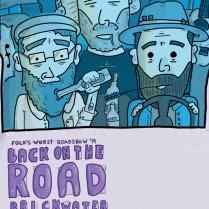 Folk's Worst Roadshow Plakatdesign