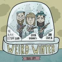 Weird Winter II Plakatdesign